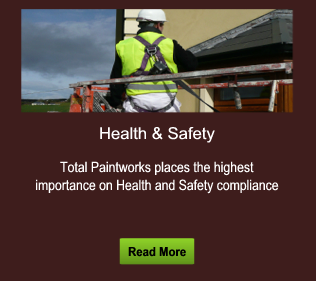 Total Paintworks places the highest importance on Health and Safety compliance . Click to Read More